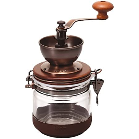 """Hario Ceramic""""Canister"""" Coffee Mill Manual Grinder, 120g"""