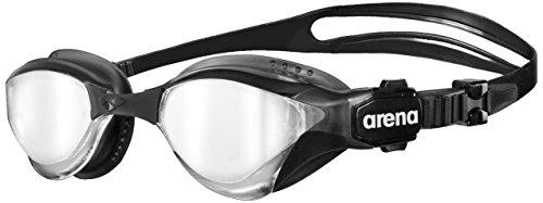 ARENA Gafas de natación para triatlón unisex Cobra Tri Mirror, silver-black-black, one size gafas de natación, Unisex adulto, silver-black-black, one size