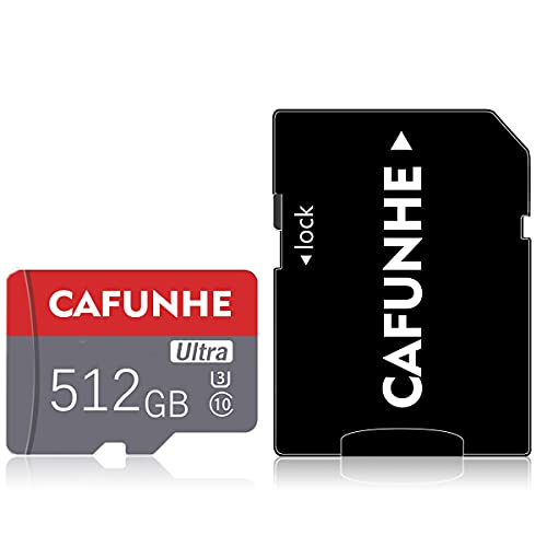 Micro-SD-Karte, 512 GB, schnelle...