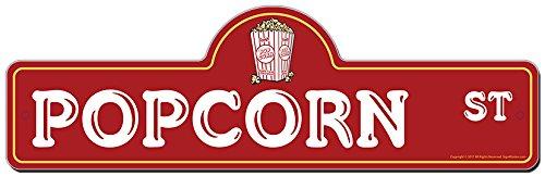 vintage popcorn sign - 9