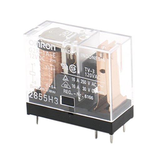 Heschen Relais elektromagnetisch G2R-1A-E 12VDC SPST-Schließer 16A / 250VAC Montage Leiterplatte 6-polig
