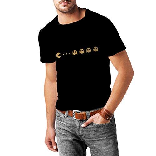 lepni.me Männer T-Shirt Retro-Gamer-Geschenk, klassisches Videospiel-Liebhaberstück (XXXX-Large Schwarz Gold)