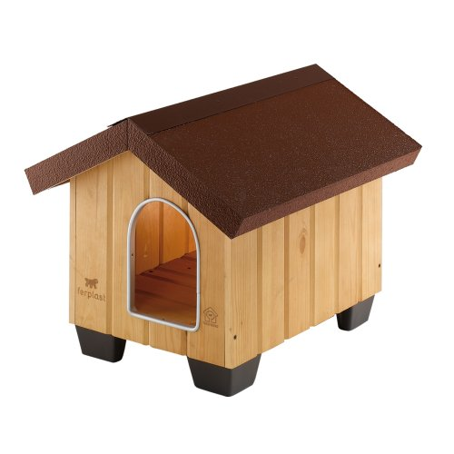 Ferplast 87000000 Domus Mini Hundehütte, 50 x 65 x 47.5 cm