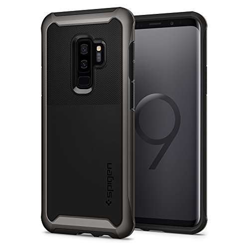 Spigen® [Neo Hybrid Urban Funda Galaxy S9 Plus con Protección Reforzada y Delgada de Doble Marco Reforzado Premium para Samsung Galaxy S9 Plus (2018) - Bronce