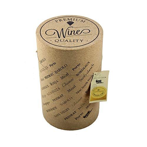 BEAT COLLECTION Wine 1 Tabouret, 48 x 30 x 30 cm, Couleur Marron