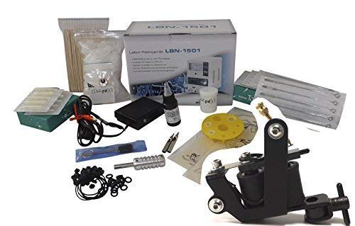 INKgrafiX®TATTOO SET 10Wrap Maschine IG-28f - KOMPLETTSET InkgrafiX® Deutschland! IG05137