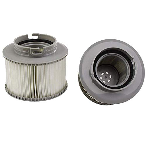 Filterkartusche/ Ersatzfilter für MSpa-Whirlpools im 1er-, 2er- oder 3er-Pack, grau