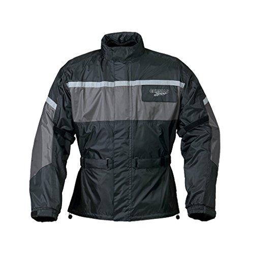 Preisvergleich Produktbild Regenjacke Leeds schwarz / grau XXL