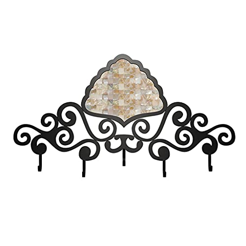 Ganchos para abrigos montados en la pared Abrigos Ganchos Hogar Capa montada en la pared Rack Baño Toalla de metal Rack Dormitorio Sala de estar Corredor Decoración Colgante Pasquía Percha Ganchos par
