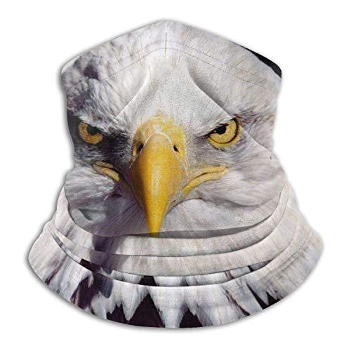 GWrix Amerikaanse vlag met witte kop zeeadler bivakmuts dames bandana heren bivakmuts nekwarmer tube face sjaal tube hatliner