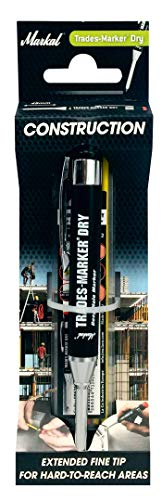 Markal Trades-Markers Dry Starter Set, anti-stick 1 + 1 set cartridges, graphite / red / yellow, 96264