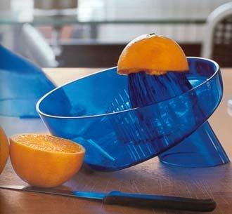 Fratelli Guzzini Clear Cobalt Citrus Juicer