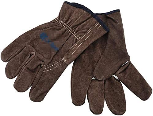 Welding Gloves Baking Genuine Free Shipping Leather Working In a popularity Grill