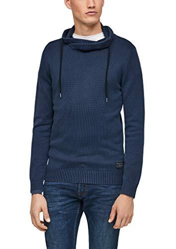 Q/S designed by - s.Oliver Herren 520.10.012.17.170.2056071 Pullover, Dark Blue, XXL