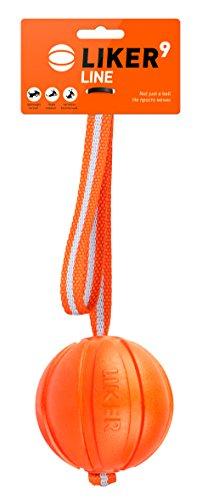 Liker K9 Training Equipment Line 9 Dog Ball Harmless Floaty Lightweight Training Fetch Toy 3.54'