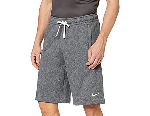 Nike Herren Club 19 Shorts, Charcoal Heather/Anthracite/White/White, M