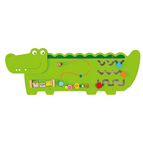 VIGA- Eitech GmbH Toys – Wall Toy, Colore Verde, 50469