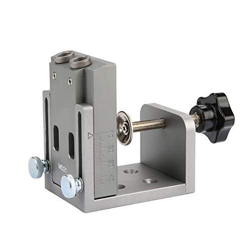 Tragbares Mini-Taschenloch-Jig-Kit Bohrschablone Löcher für die Holzbearbeitung