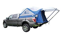 This roomy tent sleeps 2 people with over 5.6 feet of headroom and is the only truck tent on the market with a sewn in floor Large rear access panel allows you to access the truck's cab for additional storage while the large entrance door, 2 mesh win...