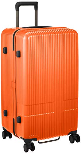 [イノベーター] スーツケース 5~長期泊 | レクタ形状 | 快適走行 | 快適収納 | INV70 保証付 75L 4.2kg オレンジピール