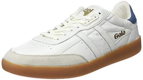 Gola Inca Leather, Zapatillas Hombre, Marfil Off White Baltic Gum OW, 46 EU