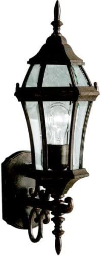 Kichler 9790TZ Townhouse Outdoor 1-Light Max 40% OFF Tannery OFFicial shop Bronze Wall