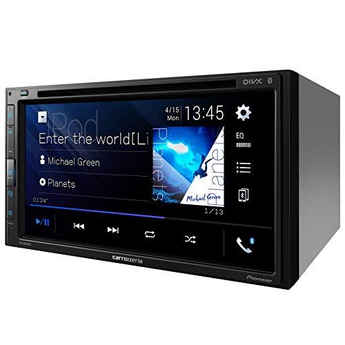 カロッツェリア(パイオニア)カーオーディオAppleCarPlayAndroidAuto対応2DINCD/DVD/USB/BluetoothFH-8500DVS