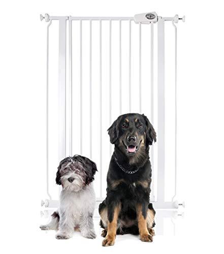 Bettacare Hundegitter, extra hoch, druckmontiert, 75 cm - 84 cm