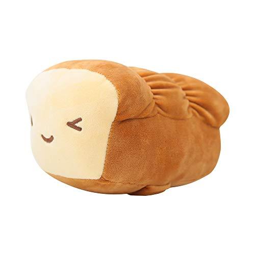 CottonFood Food Plush Pillow Mozzi Bread 15cm(6') Brown