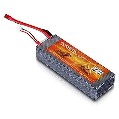 Floureon 2X 2S 7.4V Lipo Battery Pack