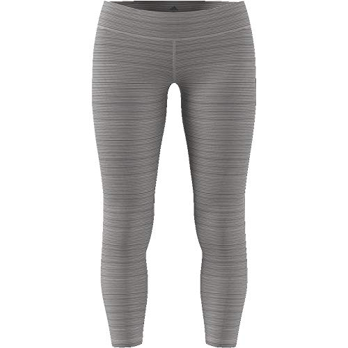 adidas Damen Believe This Regular-Rise Heathered 7/8 Tights - 4
