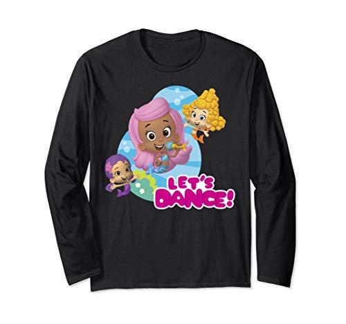 Bubble Guppies Let's Dance Girls Group Shot Long Sleeve T-Shirt