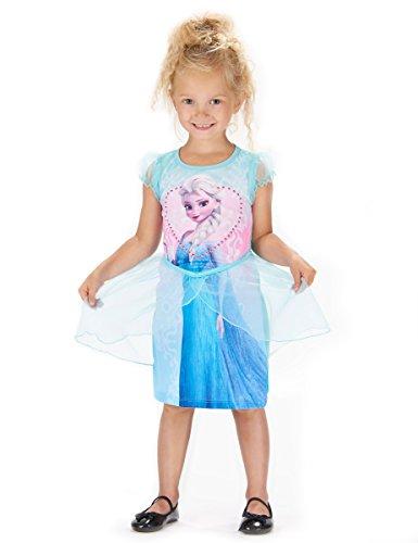 Generique - ELSA Die Eiskönigin-Kleid für Mädchen 122/128 (7-8 Jahre)