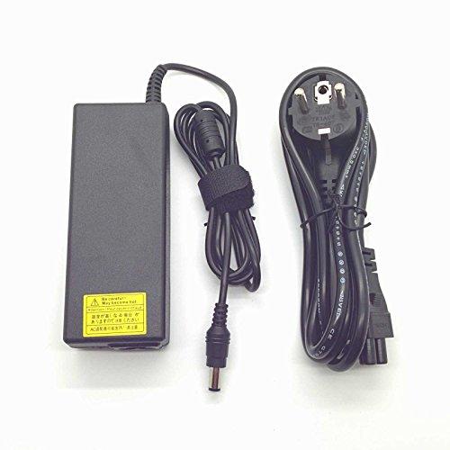 Adaptador Cargador Nuevo Compatible Toshiba PA3755E-1AC3 Satellite A100 A2 Pro S500 A120 Portege R500 Tecra A10 15v 6a con Punta 6.3mm x 3.0mm del listado Inferior