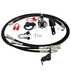 Third Function Valve Kit for Kubota L4600 with LA 764 Loader & Kubota L4701 with LA 765 Loader This 3rd function valve kit is powered by the power beyond port of your existing loader valve which will allow you to use multiple functions at the same ti...