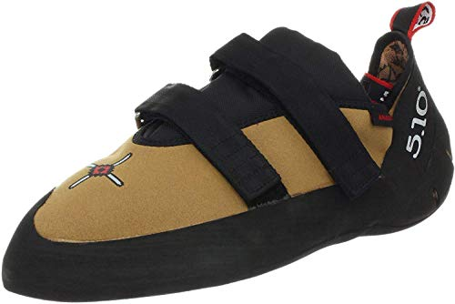 Five Ten Men's Anasazi VCS Climbing Shoe,Golden Tan,3 M US