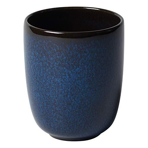 like. by Villeroy & Boch – Lave bleu Becher ohne Henkel, 400 ml, Tasse aus Steingut ohne Henkel für besondere Kaffeemomente, spülmaschinengeeignet