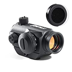 ADR DESIGN : 22mm lens provides quick target acquisition with high resolution and high light transmittance. Significantly reduces objective lens glare and reflection to keep your location unseen. The level 5 brightness enables clear vision both day a...