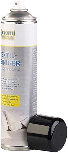 AtomiClean Teppichreiniger: Textilreiniger mit Aktivschaum, Zitrus-Duft, 600 ml (Aktivschaum Reiniger)