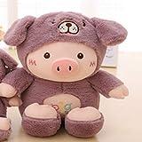 *zcm *Bambola *di Peluix 30 Cm *Kawaii *Pig *Stuffed *Plush *Doll *Cosplay *Cat & *Bear & *Dog *Toy *Baby *Soft Animal *Pig *Pillow Nens Nena Aniversari