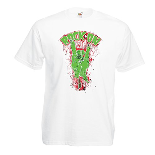Camisetas Hombre ¡Símbolo del Metal de la Mano del Zombi!...
