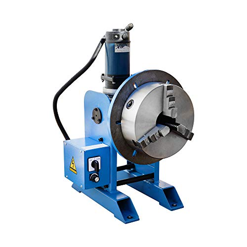 "10"" Chuck + 220-480 LBS Welding Positioner Positioning Rotary Turn Table Tilt 0-135 Welder 110V"