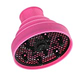 Leyeet Universal Foldable Hairdryer Hood Silicone Hair Dryer Diffuser Tool Travel Home