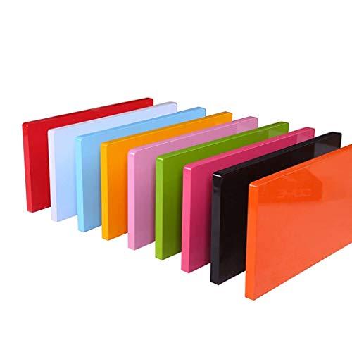 QTDH Zwevend rek, MDF, opbergkast, voor kantoren, woonruimtes, hal, robuuste fotolijst, speelgoed