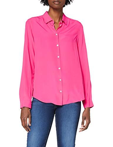 Seidensticker Damen Fashion 1/1 Bluse, Pink (43), 38