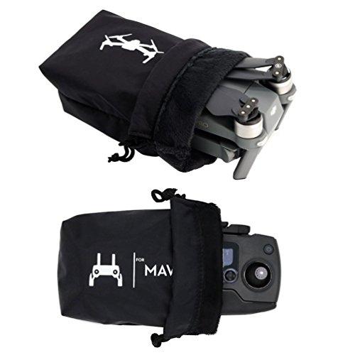 Rantow Mavic Pro wasserdichte Tasche Combo, Speicher Drone Body Bag + Fernbedienung Tragen Tuch Hülle für DJI Mavic Pro Schwarz