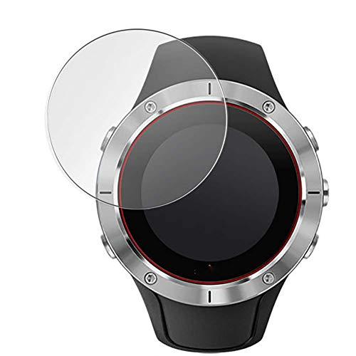 Vaxson 3-Pack Vetro Temperato Pellicola Protettiva, compatibile con Suunto Spartan Trainer Wrist HR Smartwatch Hybrid Watch, 9H Screen Protector Film