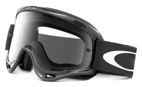 Oakley - 01-615 O-Frame MX Goggles with Clear Lens (Black)