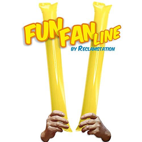 FUN FAN LINE - Pack 100 Pares de Aplaudidores hinchables ruidosos de...