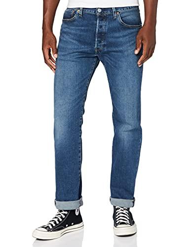 Levi's 00501 Jeans, Ubbles, 33W x 34L Uomo